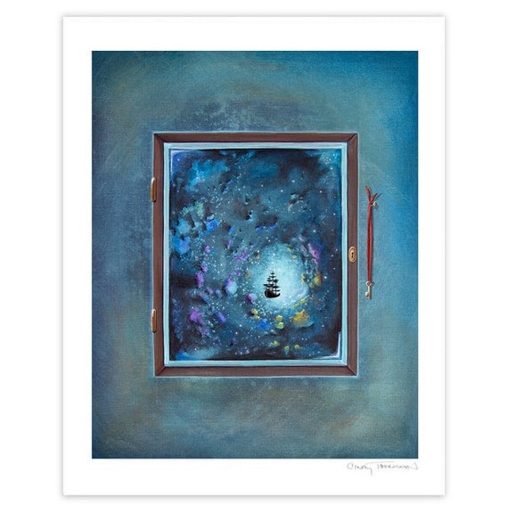 Seafarer Series Limited Edition - Window To Genesis - Signed 8x10 Matte Print (8/10)