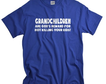 Grandma Gift - Grandparents Gifts - Funny T Shirts for Grandma and Grandpa