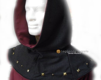 MADE TO ORDER Tunic and cape, Renaissance, Reenactment, Sca, Larp Man Costume, medieval clothing