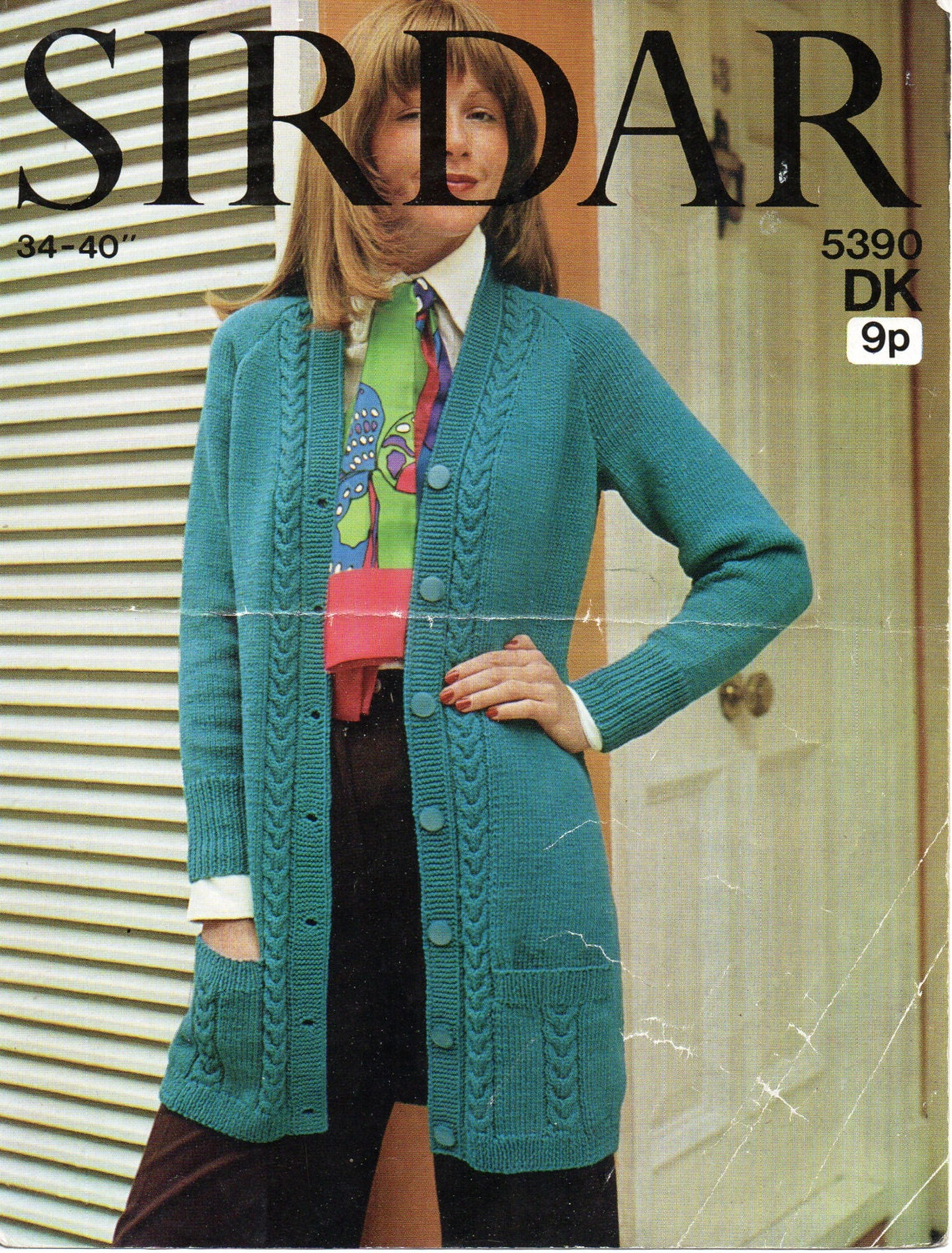 Womens Knitting Pattern Ladies Long Cardigan Womens Long Cardigan ...