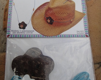 DIY Cowboy Hat Adornment Kit