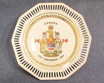 Canadian Centennial Commemorative Plate