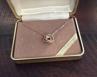 Vintage Gold Chain Necklace - In Original Box
