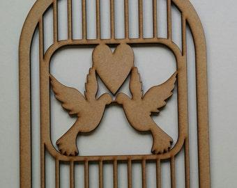 Love birds Birdcage