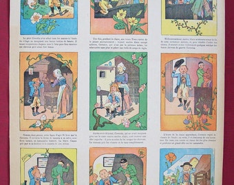 L'Idee De Corentin French Newspaper Illustration