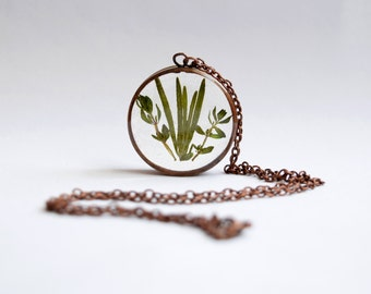 Rosemary & Thyme Pendant / Necklace