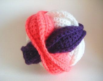 Ball Violette Montessori for children