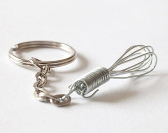 Tiny Whisk Keychain