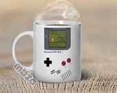 Pokemon Mug Nintendo Gameboy Inspired Customized 11oz Coffee Mug - Great Gift for Gamers, Ash Ketchum, Nerd, Geekery