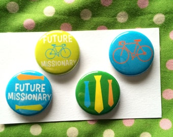 missionary magnets - set of 4