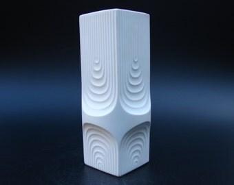 Kaiser Op art vase Space Age Mid Century Modern design Psychedelic Panton era