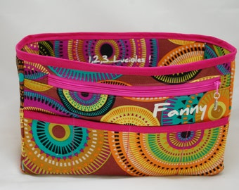Graph-customizable handbag Organizer