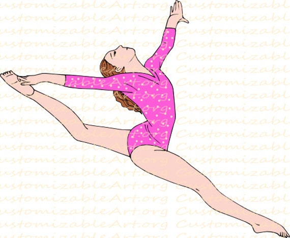 Легкие рисунки по гимнастике