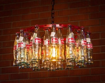 Coca-Cola bottle Chandler  chain style No Wiring Required