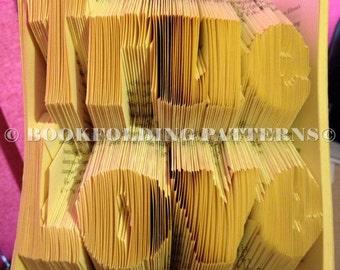 True love book folding pattern