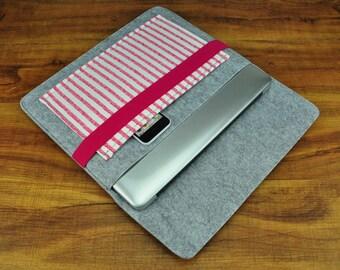 Elastic Band Closure Felt Macbook Pro Case , Felt Macbook Air Sleeve, Felt Macbook Case , Felt Macbook Pro , Felt Macbook Air Sleeve-CF73