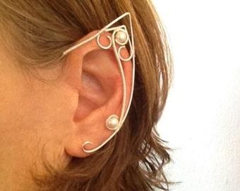 Elf Ears, Elf Ear Cuff, Fairy Ears, Wire Elf Ears, Ear Cuff Elf