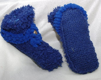 slippers / slippers knitted for adults / knitted slippers