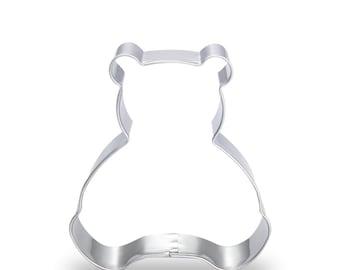 Stainless Steel Teddy Bear Cookie Cutter