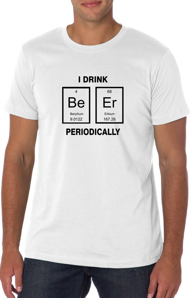 Table of Elements t Shirt T-shirt Periodic Table t