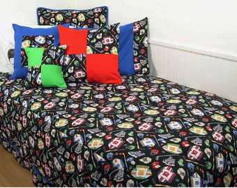 Hockey Comforter in Full Size