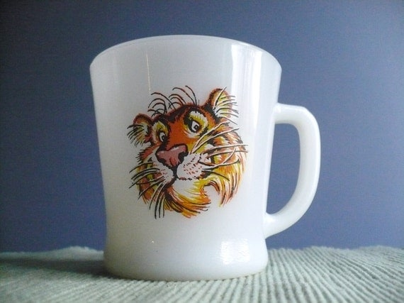Vintage Tony the Tiger Mug by Anchor Hocking Fire-King Made in