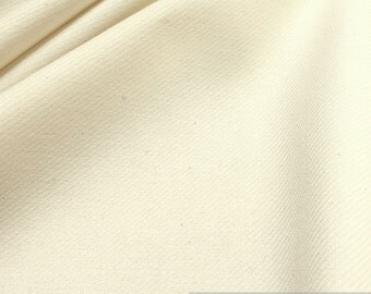 Fabric cotton new wool herringbone wool white LARP