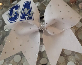 Custom Cheer Bow - You choose the name, logo, and colors