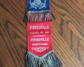 Jr. O.U.A.M, Masonic Ribbon Badge