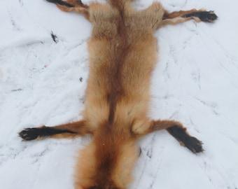 Fox pelt for soft mount