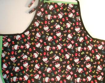 Full Size Christmas Hello Kitty Adult Apron
