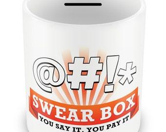 Swear Jar Money Box - Gifts swear pay up pay it swear box