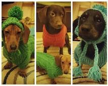 Clothing for dog.Dog costumes.Dog hat. Knitting for pets. Hat for dog. Sweater Handmade Dog Sweater Knit Dog Clothing by RakushaShop