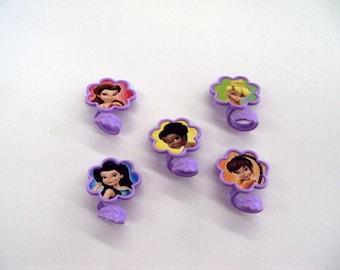 Tinkerbell Plastic Rings