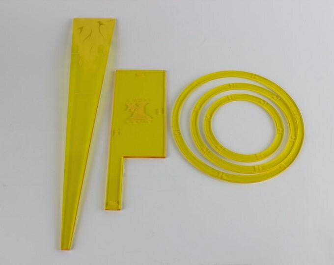 Yellow - War Machine and the Hordes starter measurement kits