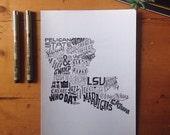 Louisiana Print