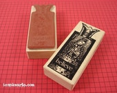 Retablo Guadalupe Stamp / Invoke Arts Collage Rubber Stamps