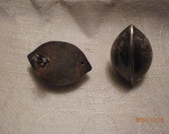 vintage handmade 925 sterling silver earrings ,nice design