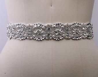 Pearl Bridal Belt, Crystal Bridal Belt, Beaded Bridal Belt, Bridal Sash Belt, Black Bridal Belt, Beaded Bridal Sash, Pearl Bridal Sash