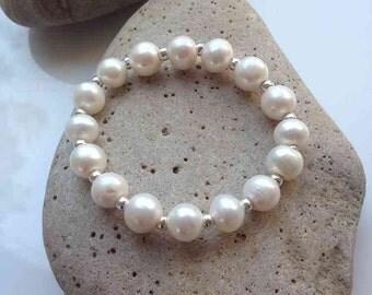 Freshwater Pearl Stretch Bracelet