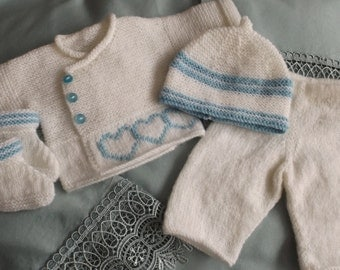complete set for premature baby boy and girl