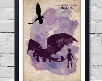 How to train your DRAGON. Poster