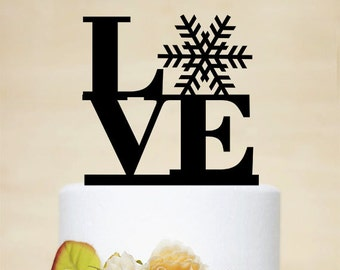 Love Cake Topper,Wedding Cake Topper,Wedding Decor With Acrylic-P005