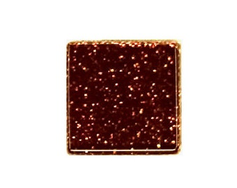 Cocoa Glitter Crystal Glass MosaicTiles