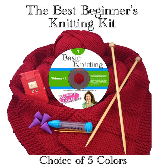 The Best Beginners Knitting Kit