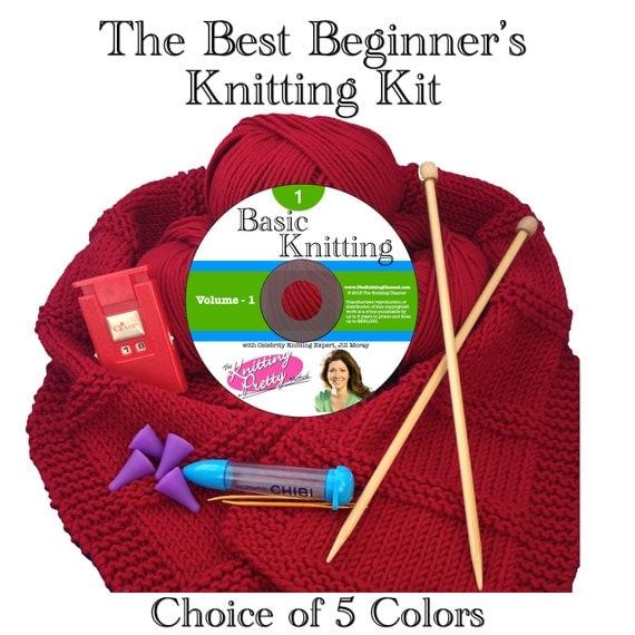 Crochet Kits For Beginners : The Best Beginners Knitting Kit
