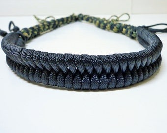 Custom Paracord Call Lanyard Duck/Goose Camo and Black Colors
