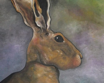 The March Hare -A6 note card