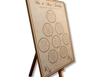 MDF Table Plan