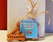 Peanut Butter and Bacon Customized Doggie Snacks